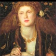 The Blessed Damozel by Dante Gabriel Rossetti