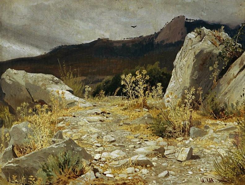 Šiškin ivan ivanovič horská stezka krym 1879