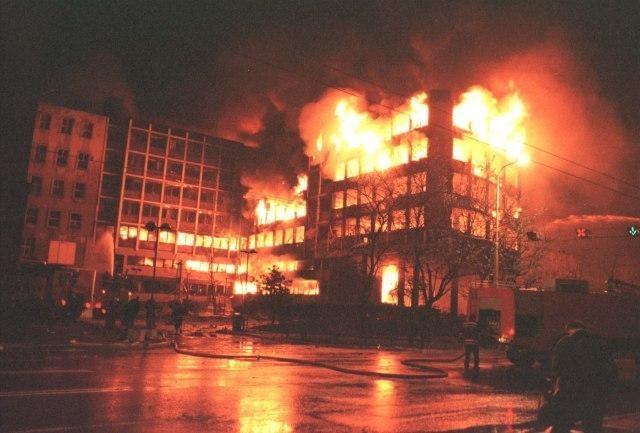 Bombardování Bělehradu, 1999