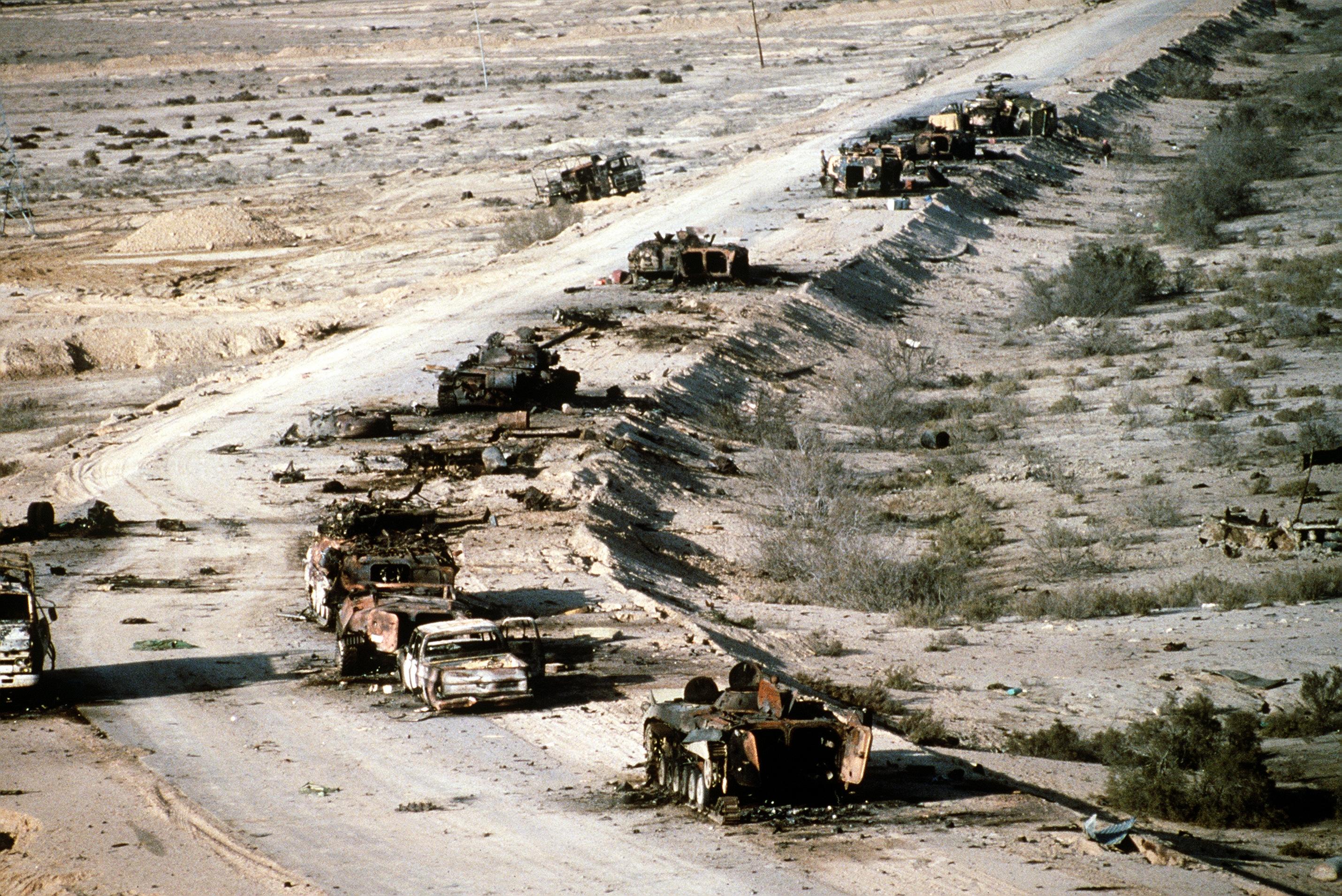 Operace Pouštní bouře, Irák, 1991